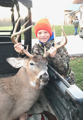 Buck at Ohio Guide Outfitters