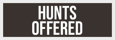 Hunts Offered